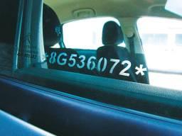 Numeração de vidros