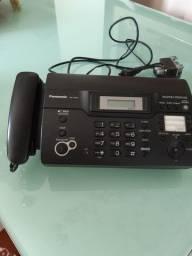 Telefone com identificador dchamadas e fax