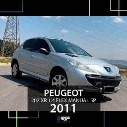 Peugeot 207 XR 1.4 Flex Manual | 77 mil km rodados | 2011