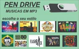 Pen Drive Gravado Músicas e Clips 16gb