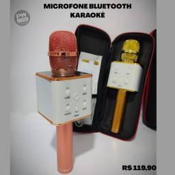 Microfone bluetooth karaokê- Loja PW STORE
