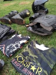 Equipamentos Trilha, Motocross, Velocross