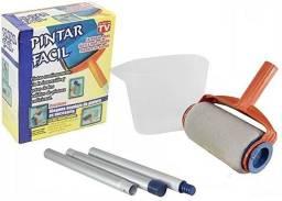 Pintar Fácil Kit Pintura Para Pintar Parede Rolo Casa Fácil