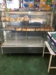 Balcão seco para pães