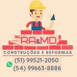 Reformas e construção!