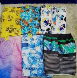 Shorts personalizados 30 reais
