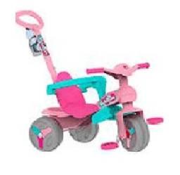 Veloban passeio com pedal rosa