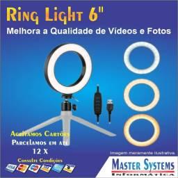 Ring Light Led 6 Polegadas