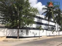 Flat com 1 dormitório para alugar, 35 m² por R$ 1.400,00/mês - Cidade Universitária - Reci