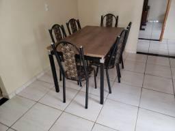 Mesa do jantar 6 cadeiras