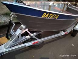 Barco canoa tigre 4,50