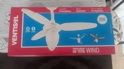 Ventilador de teto ventisol novo na caixa.