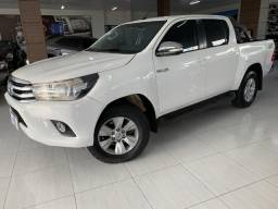 Hilux Srv 4X4 diesel automática ano 2016