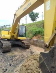 Vendo escavadeira hidráulica pc 200