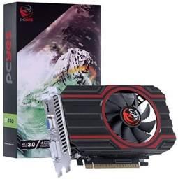 Placa de vídeo nvidia geforce GT 740 gdd5 4gb 128bit
