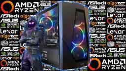 PC Gamer AMD Ryzen 5 1600 AF + GTX 1650 4GB | Novo c/ Garantia!