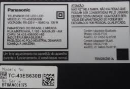 Tv Panasonic LED LCD TC-43ES630B