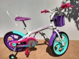 Bicicleta infantil aro 16 ( Caloi Ceci )