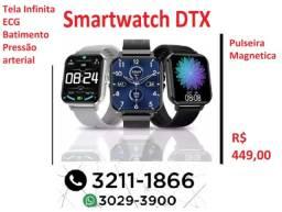 "DTX Relógio Inteligente Tela 1,78"" Ultra HD Sem Bordas."