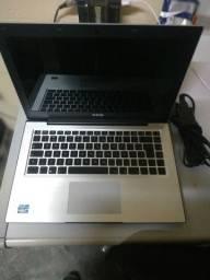 Vendo notebook i3 cce super conservado