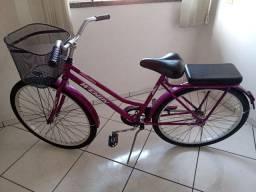 Bonita bicicleta feminina está nova 400 reais