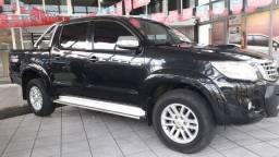 Toyota hillux srv 3.0 Cabine Dupla 4x4 diesel 2013 automática