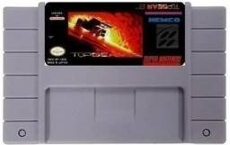 Fita para Super Nintendo Top Gear 2