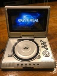 Vendo DVD portátil com tela de 7 polegadas