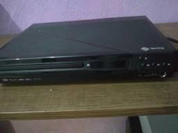 Aparelho DVD usado entrada USB/microfone