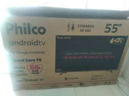 Tv Philco smart 55 nova na caixa nunca usada
