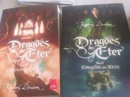Livros de ficção novos