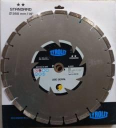 Disco Diamantado Novo, Marca Tyrolit Standart,350mm