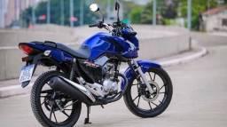 Vendo moto (Financiada) com entrada reduzida