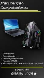 Manutenção e Formatação Computadores