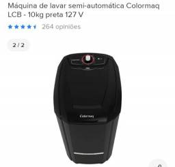 Tanquinho colormaq semi -automatica 10kg