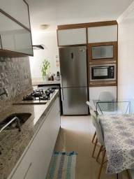 *Apartamento · 74m² · 3 Quartos (1 suite) · 2 Banheiros · 1 Vaga (carro e moto)*