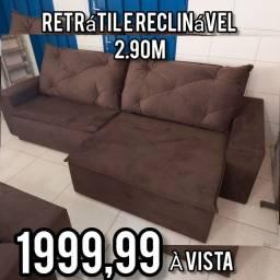 SALDÃO sofás RETRÁTEIS E RECLINÁVEIS, últimas peças