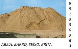 areia ,barro ,seixo ,brita .