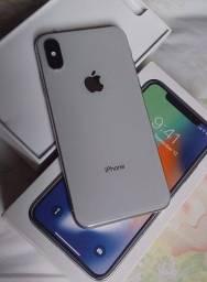 iPhone X 64gb vendo ou troco