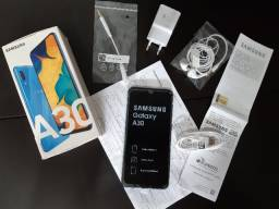 Samsung A30 64Gb, 4Gb Ram, Telona Infinita 6.4, Bateria 4000, Nota Fiscal Top!
