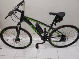 Bike OX Aro 29 Glide, peças shimano, Quadro nº 17 de alumínio, NF+ Acessórios