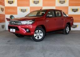 Toyota Hilux CD Srv 4x4 2.7 2018 Automático único dono com kit gás g5