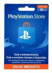 Cartão de 30 da PlayStation