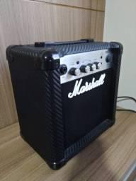 Guitarra Ibanez Les Paul, Amplificador Marshall e acessórios