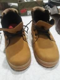 Par de botas becbull original, sem uso