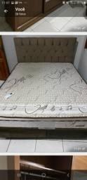 Belíssima cama box  pouco tempo de uso!
