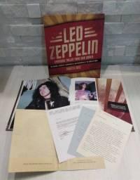Led Zeppelin - Box Shadows Taller Than Our Souls - Importado - Livro + Cd