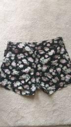 Short floral Tam 40