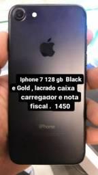 Iphone 7 lacrado 128 gb