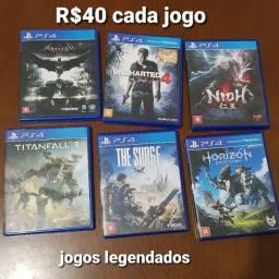 Jogos Usados PS4 - Mídia física - Legendados